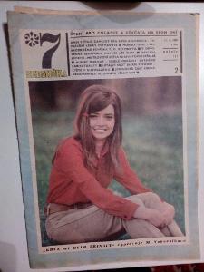 Časopis, Sedmička, č. 2/1969, zachovalý stav