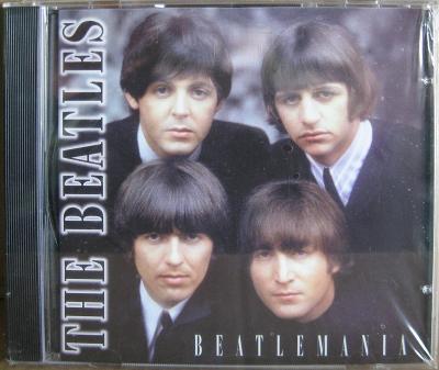 CD - The Beatles , nové-ve folii