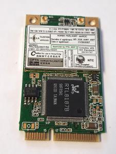 Wifi modul RTL8187B z Toshiba Satellite L500-1GF