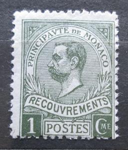 Monako 1911 Kníže Albert I., doplatní Mi# 8 2240