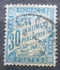 Monako 1904 Doplatní Mi# 5 2240