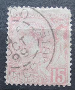 Monako 1891 Kníže Albert I. Mi# 15 Kat 9€ 2240