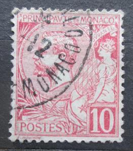 Monako 1901 Kníže Albert I. Mi# 23 b 2240