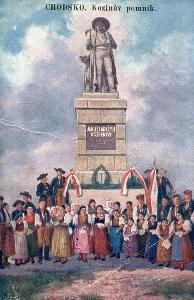 Chodsko - Kozinův pomník ..