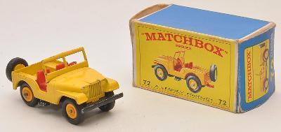 MATCHBOX RW No. 72b Standard Jeep