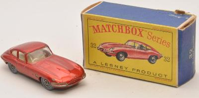 MATCHBOX RW  32b Jaguar E-type