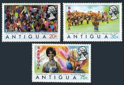 Barbuda 1973 Karneval, kultura ostrova