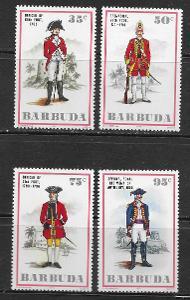 Barbuda 1975 6€ Koloniální britští vojáci, vojenství