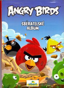 ANGRY BIRDS sběratelské album s kartami