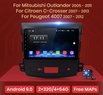 2DIN ANDROID 10.0 AUTORÁDIO do Mitsubishi Outlander 2005 - 2011