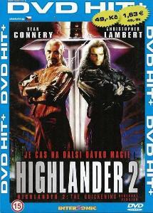 Highlander 2: Síla kouzla - DVD pošetka