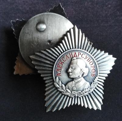 RUSKO CCCP Medaile Alexander Vasiljevič Suvorov replika