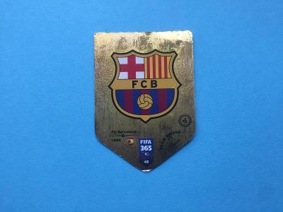 Panini Barcelona GOLD - ZLATÁ karta FIFA 365 ADRENALIN