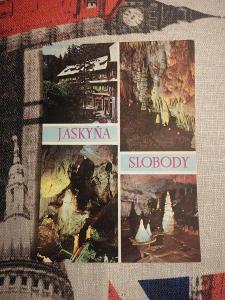 Pohlednice - Jaskyňa slobody, neprošla poštou