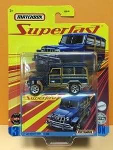 1962 Willys Jeep Wagon - Matchbox Superfast 13