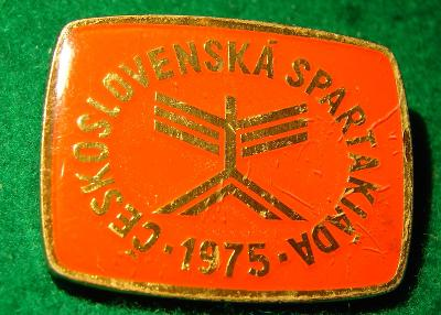 odznak/ SPARTAKIÁDA 1975