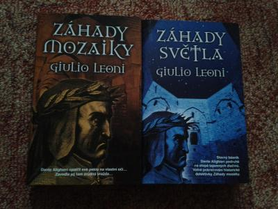 GIULIO LEONI: ZÁHADY MOZAIKY + ZÁHADY SVĚTLA - NOVÉ