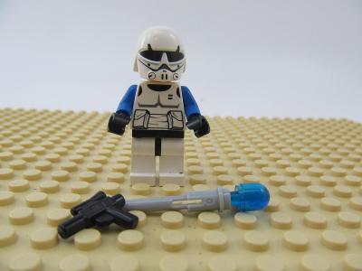 LEGO figurka minifigures Star Wars trooper clone mandalorian Commander