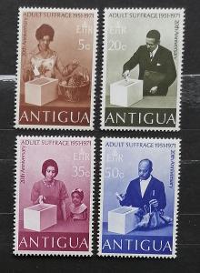 Antigua & Barbuda 1971 20 let volebního práva