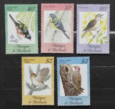 Antigua & Barbuda 1984 10€ Zpěvní ptáci ostrova