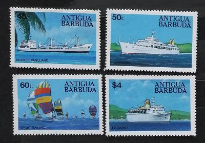 Antigua & Barbuda 1984 10€ Lodě, doprava