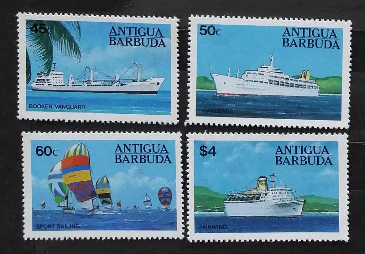 Antigua & Barbuda 1984 10€ Lodě, doprava - Filatelie