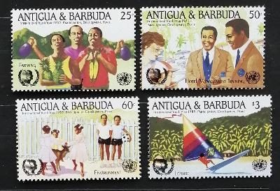 Antigua & Barbuda 1985 6€ Rok mládeže, sport