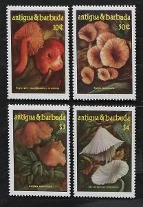 Antigua & Barbuda 1986 8€ Houby, ostrovní flora