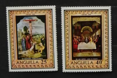 Anguilla 1969 Velikonoce a umění