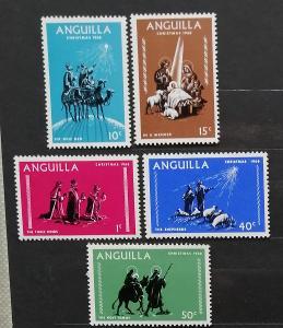 Anguilla 1968 Vánoce a náboženství