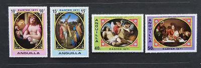 Anguilla 1971 Velikonoce a umění