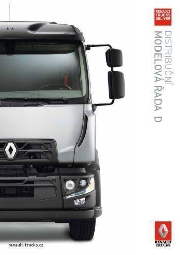Renault Trucks Řada D prospekt 04 / 2016 CZ
