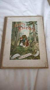 Český herbář slovem i obrazem-barevne tabule bylin-r.vydání cca 1910