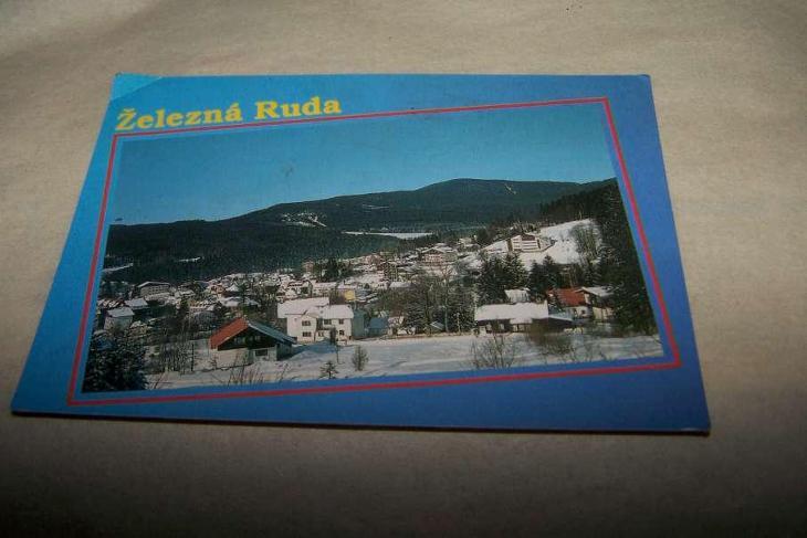 ŠUMAVA ŽELEZNÁ RUDA /Klatovy/B160/ - Pohlednice