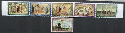 Anguilla 1977 Velikonoce a umění v pásce