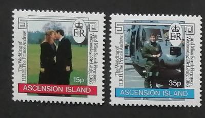 Ascension 1986 Svatba prince Andrewa a Fergie