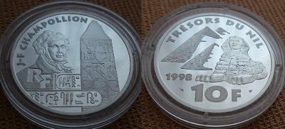1998 --- ROZLUŠTĚNÍ HIEROGLYFŮ & EGYPTOLOGIE
