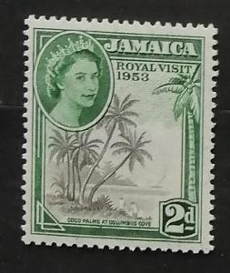 Jamajka 1953 Návštěva královny Alžběty II.