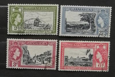 Jamajka 1955 300. výročí kolonie, výjevy z ostrova