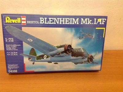 REVELL - Bristol Blenheim Mk. I/IF, 1/72