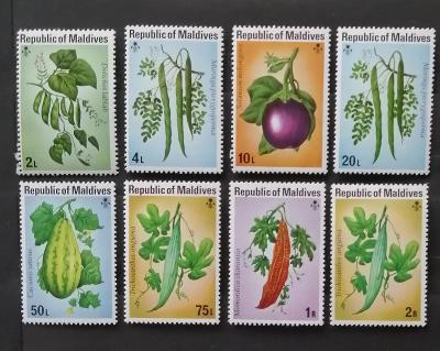 Maledivy 1976 10€ Zemědělské plodiny, flora a květiny