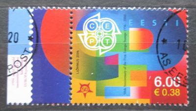 Estonsko 2006 Výročí Evropa CEPT, 50. výročí Mi# 537 0684