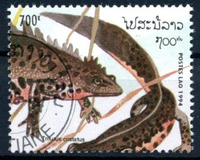 Laos 1994 ʘ/ Mi. 1419 , plazi   , /L22/