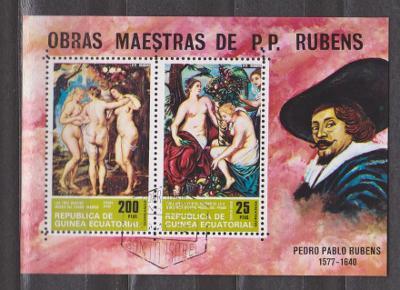 Rovníková Gvinea - Peter Paul Rubens - akty