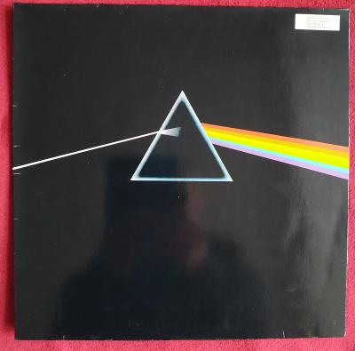 LP PINK FLOYD - DARK SIDE OF THE MOON(1973)GER Press!2x Poster! EX++!!