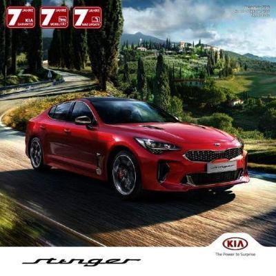 Kia Stinger model 2018 prospekt 10 / 2017 AT