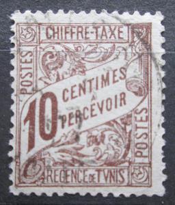 Tunisko 1901 Nominál, doplatní Mi# 29 0692