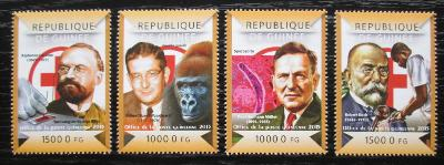 Guinea 2015 Boj proti malárii Mi# 10987-90 Kat 20€ 0695