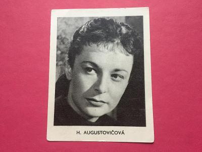 Hilda Augustovičová z vývěsky herců biografu Palác Lucerna Praha