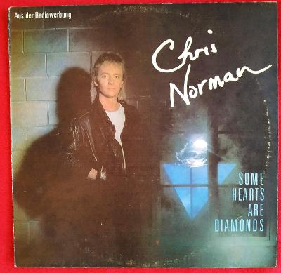 LP CHRIS NORMAN - SOME HEARTS ARE DIAMONDS(1986) BULGARY EX ZACHOVALÉ!